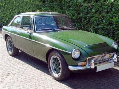 Lot 44 - 1967 MG C GT