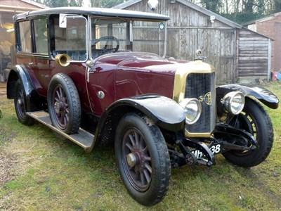 Lot 54 - 1924 Panhard et Levassor Type X46 Landaulette