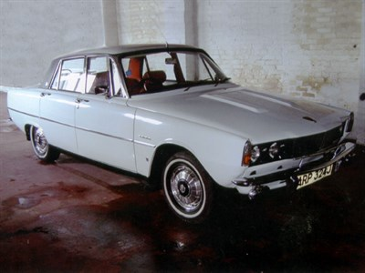 Lot 19-1971 Rover 2000 SC Saloon