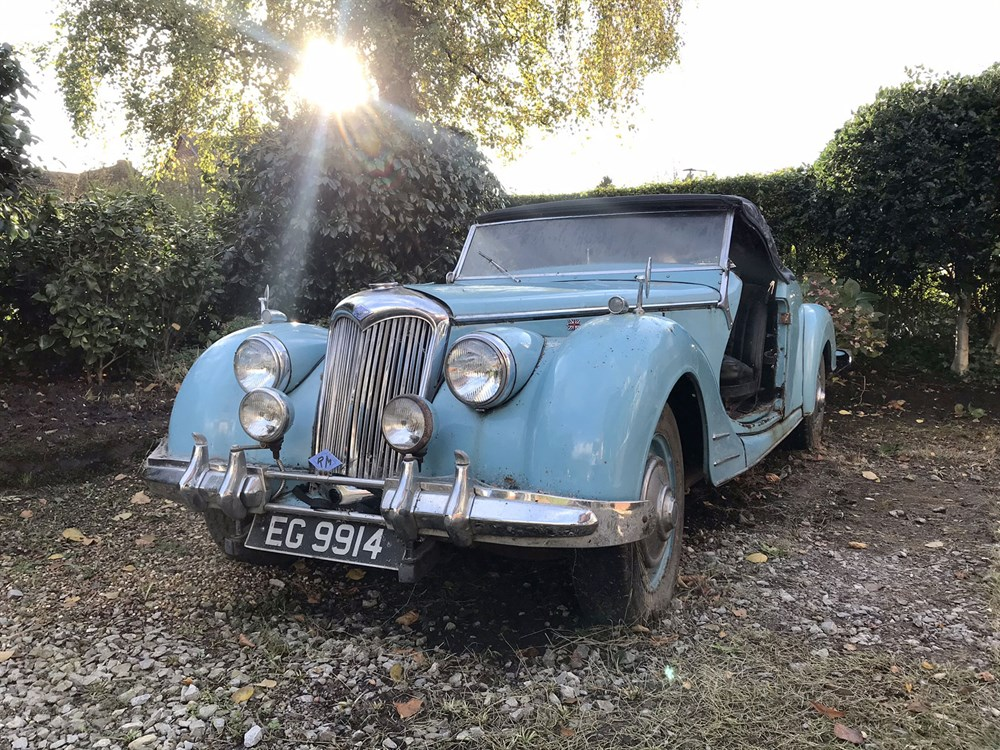Lot 48-1949 Riley 2.5 Litre RMC