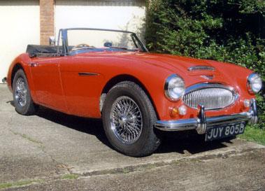 Lot 34-1965 Austin-Healey 3000 MKIII