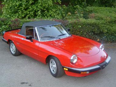 Lot 47-1987 Alfa Romeo Spider 2.0