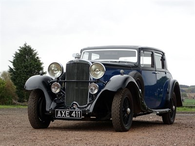 Lot 24-1933 Sunbeam 25 Sports Coupe