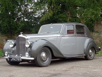 Lot 44-1948 Bentley MK VI Saloon