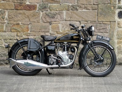 Lot 7 - 1937 Velocette MAC