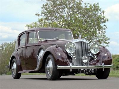 Lot 36-1940 Bentley MK V Sports Saloon
