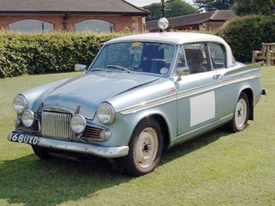 Lot 51-1962 Sunbeam Rapier Series IIIA