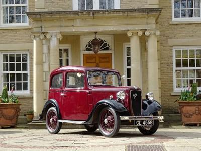 Lot 87-1937 Austin Seven Ruby