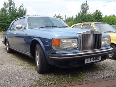 Lot 43 - 1981 Rolls-Royce Silver Spirit