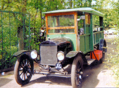 Lot 20-1920 Ford Model T Depot Hack