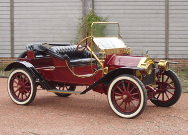 Lot 35-1912 Empire Runabout Roadster