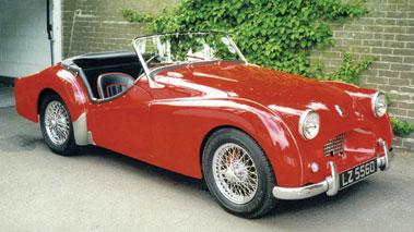 Lot 25-1954 Triumph TR2