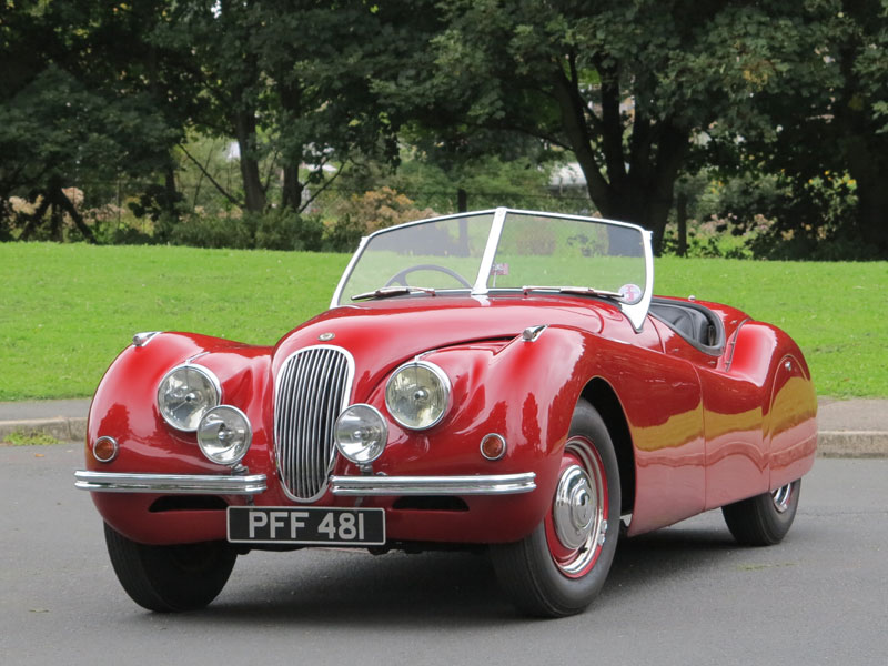 Lot 79-1950 Jaguar XK120 Roadster