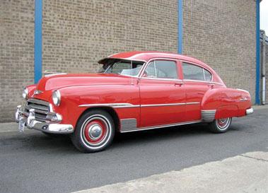 Lot 35-1951 Chevrolet Fleetliner Deluxe