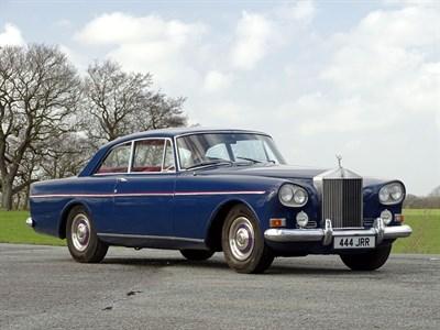 Lot 70-1965 Rolls-Royce Silver Cloud III Two-Door Saloon