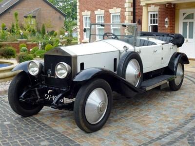 Lot 24 - 1925 Rolls-Royce Silver Ghost 40/50 Dual Cowl Tourer