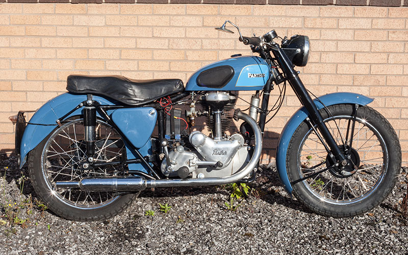 Lot 71-1954 Panther Model 65
