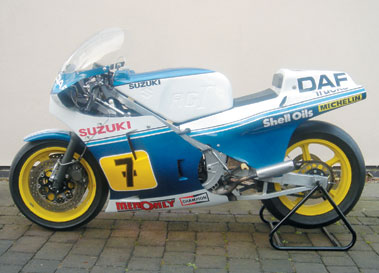 Lot 12-1984 Suzuki XR45