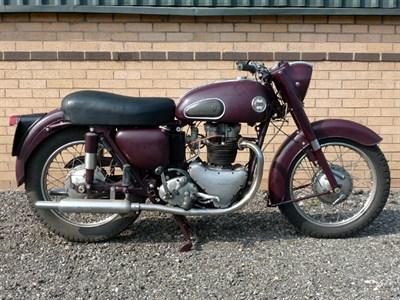 Lot 10-1958 Ariel Huntmaster FH