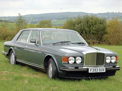 Lot 1-1989 Bentley Mulsanne S