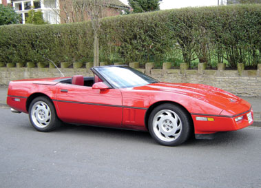 Lot 29-1987 Chevrolet Corvette Convertible