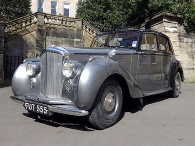Lot 66-1949 Bentley MK VI Saloon