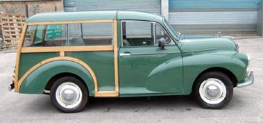 Lot 5-1970 Morris Minor 1000 Traveller