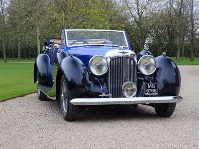 Lot 66-1939 Lagonda V12 Drophead Coupe