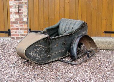 Lot 21-Mills & Threlford Sidecar