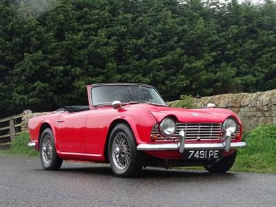 Lot 75 - 1962 Triumph TR4