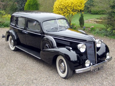Lot 28-1936 McLaughlin-Buick Series 90 Limited Limousine