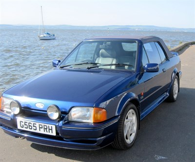 Lot 22-1990 Ford Escort XR3i SE500 Cabriolet