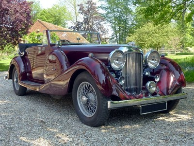 Lot 62-1936 Lagonda LG45 Drophead Coupe