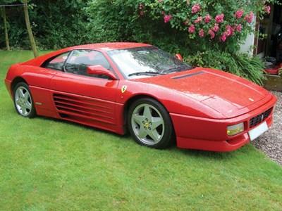 Lot 9-1990 Ferrari 348 TB