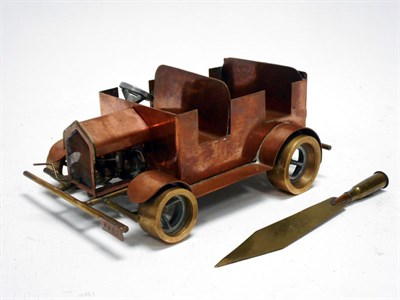 Lot 166-Rolls-Royce 'Great War Trench-Art'