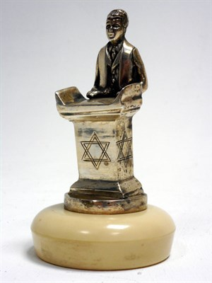 Lot 119-'Standing Rabbi' Accessory Mascot by AEL