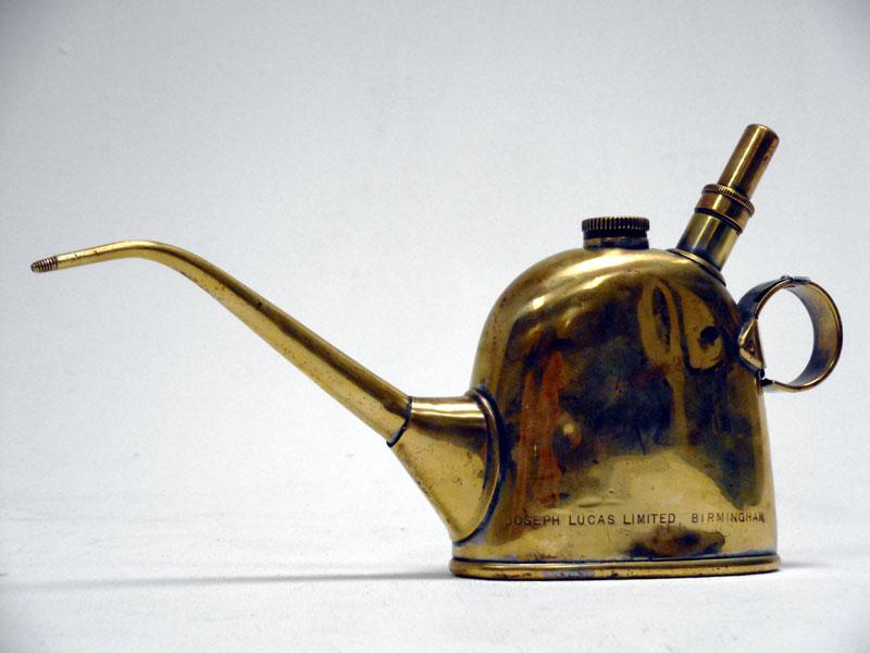 Lot 46-Lucas No. 40 Brass Oiler