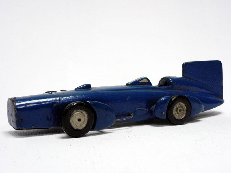Lot 85-A Scratch-Built Wooden Model of Sir Malcolm Campbell's 'Bluebird'