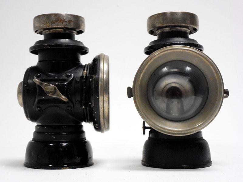 Lot 74-Lucas 'King's Own' Sidelamps