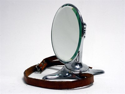 Lot 76-Spare Wheel Mounted Rear-View Mirror