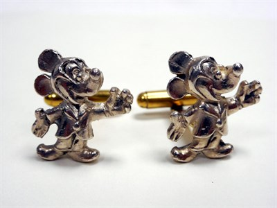 Lot 102-Mickey Mouse Cufflinks
