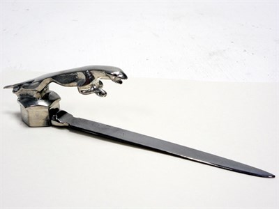 Lot 127-A Jaguar Letter Opener / Paper Knife