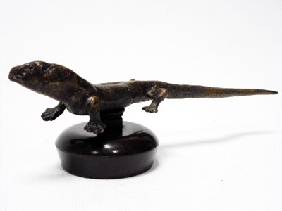 Lot 171-Clement Lizard Mascot