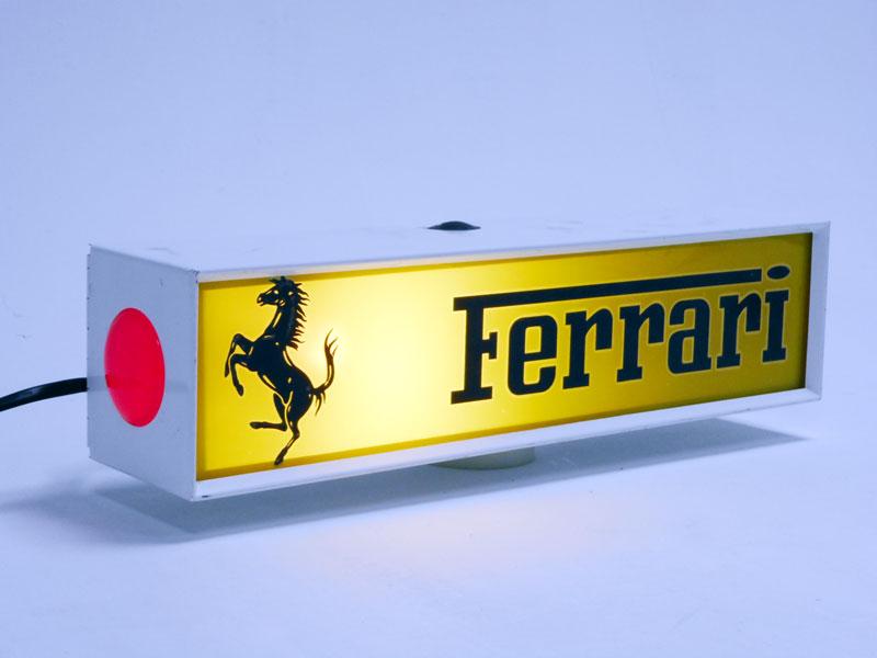 Lot 33 - Ferrari Illuminated Sign