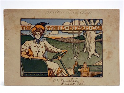Lot 61 - 'The White Steam Car' Sales Brochure, 1908