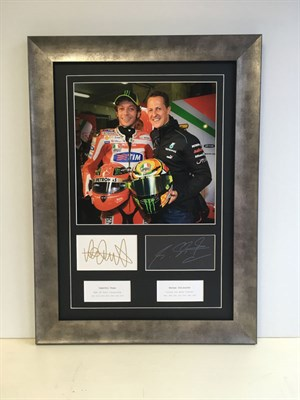 Lot 126-'Two World Champions' Autograph Presentation