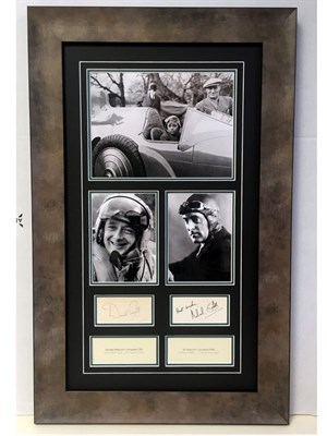 Lot 112-Malcolm and Donald Campbell 'Father and Son' Autograph Presentation
