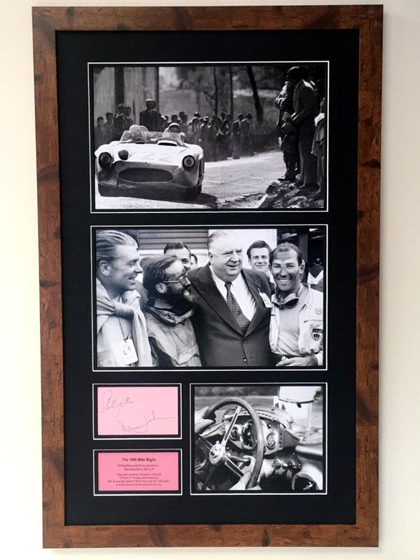 Lot 93-'The 1955 Mille Miglia' - Autograph Presentation