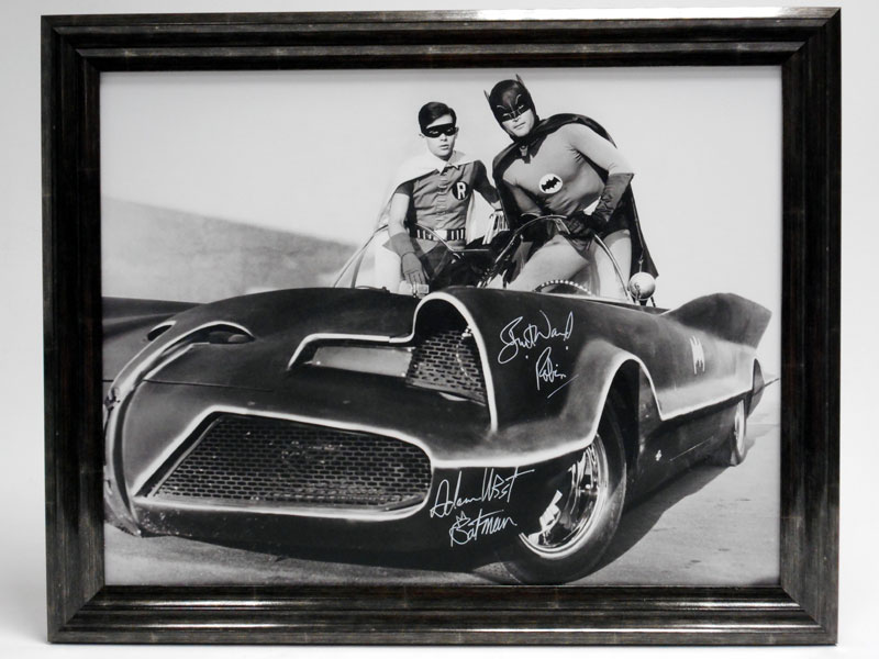 Lot 13-'Quick Robin, to the Batmobile!' (Signed)
