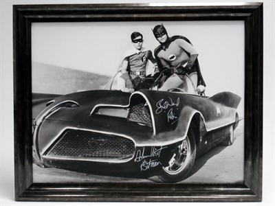 Lot 13 - 'Quick Robin, to the Batmobile!' (Signed)